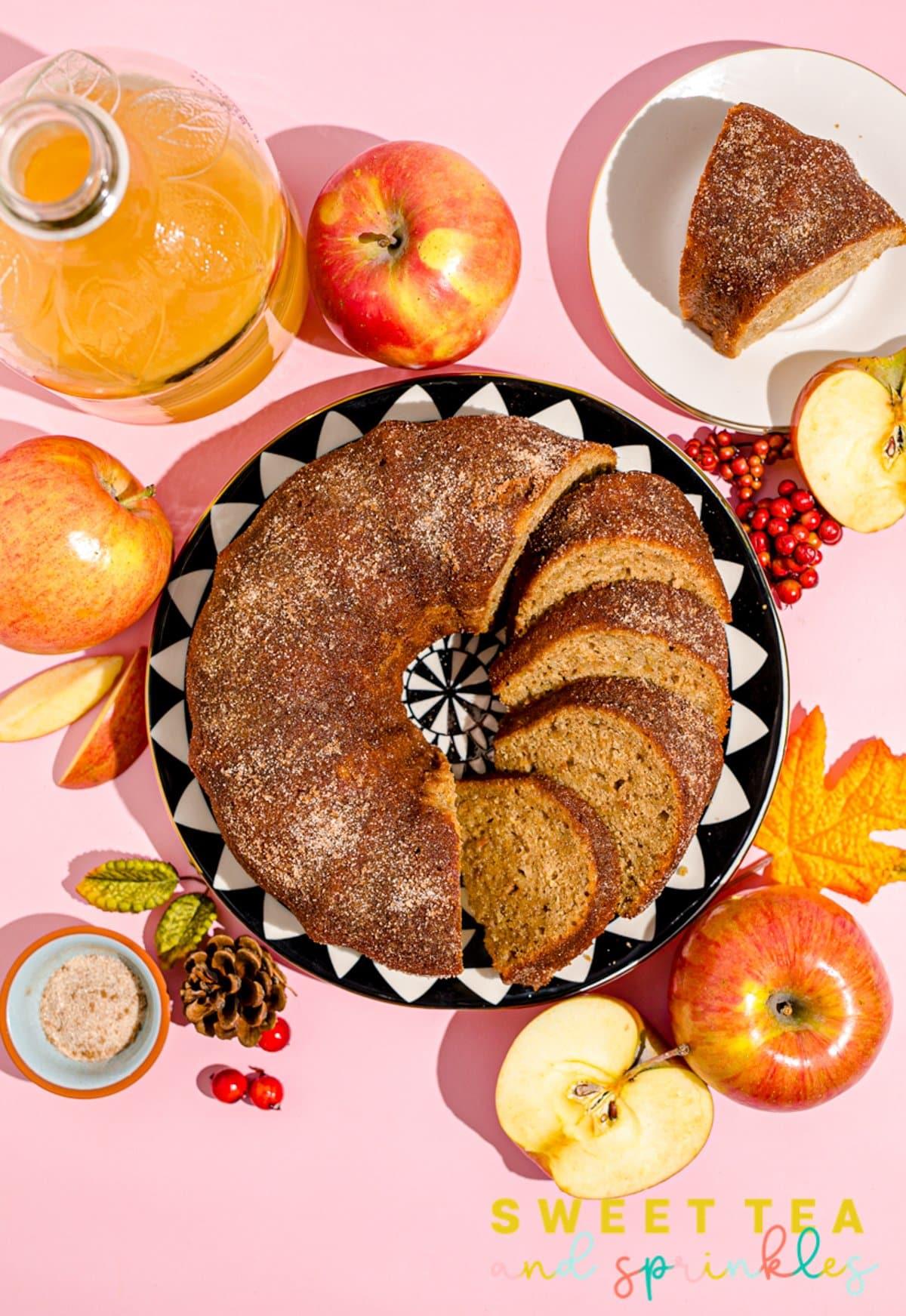 Apple Cider Bundt Cake T